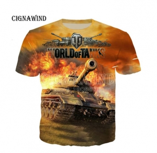 3D Tričko - celopotisk -  World Of Tanks  -  vel.  S